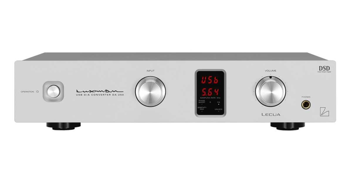 Luxman DA 250 bemutató - HiFi Reference