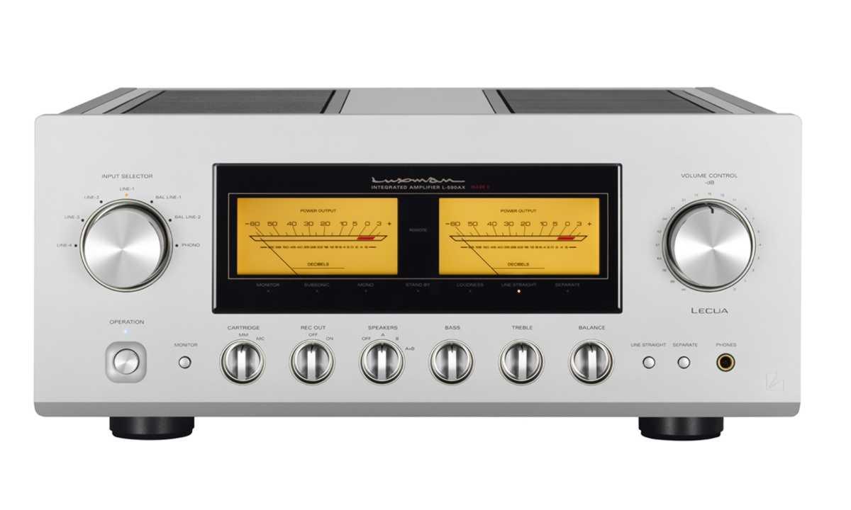 Luxman L 590 AXII Fidelity International bemutató