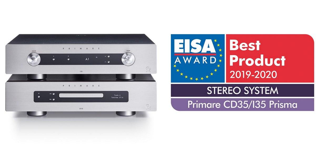 Primare CD35 és I35 - EISA 2019 2020 díj