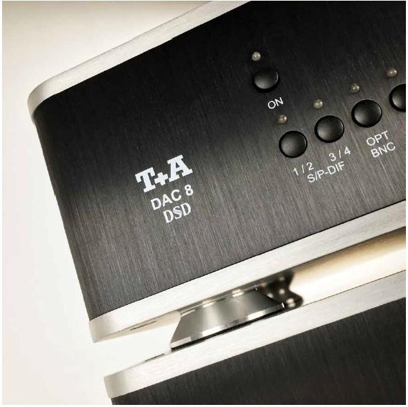 T + A DAC8 DSD és AMP8 bemutató - Fidelity International