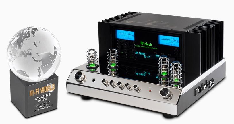 """A McIntosh MA352 a """"Hi-Fi Világ"""" legjobb hibrid integrált erősítője!"""