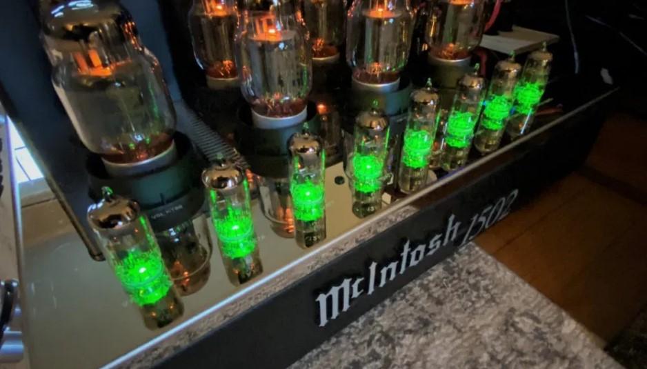 McIntosh MC1502 végerősítő bemutató - Parttime Audiophile
