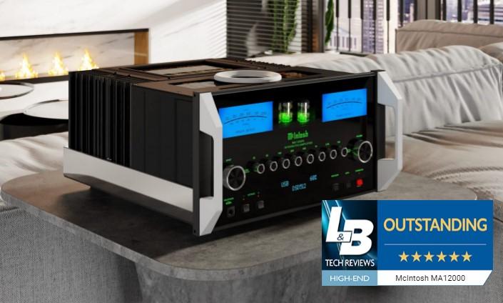 McIntosh MA12000 bemutató - LB Techreviews